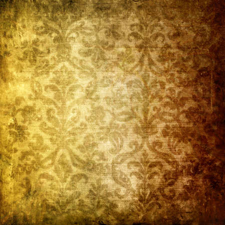 grubby: vintage wallpaper Stock Photo