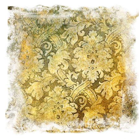 shabby golden background photo
