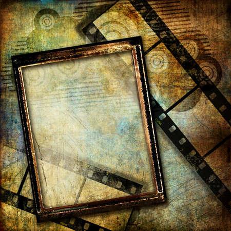 framed: grungy framed background