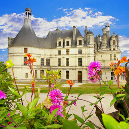 beautiful Chambord  castle -Loire valley -from my castle' serirs Stock Photo - 3878438