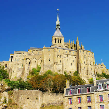 amazing Mont-saint-michel  Stock Photo - 3984142