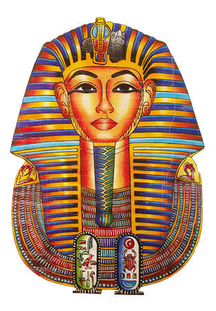 ancient egyptian culture: egyptian drawing of Pharaoh