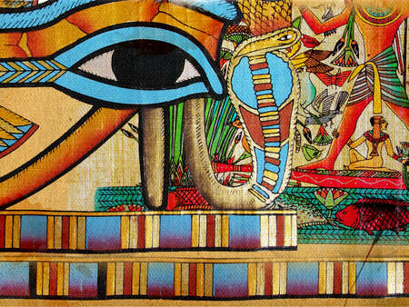 ancient egypt: egyptian abstraction Stock Photo