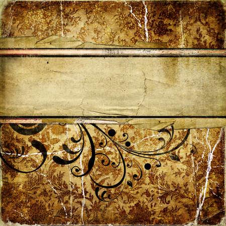 fabrick: vintage golden background Stock Photo