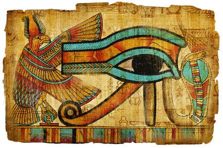 ancient egyptian papyrus Stock Photo - 4068435