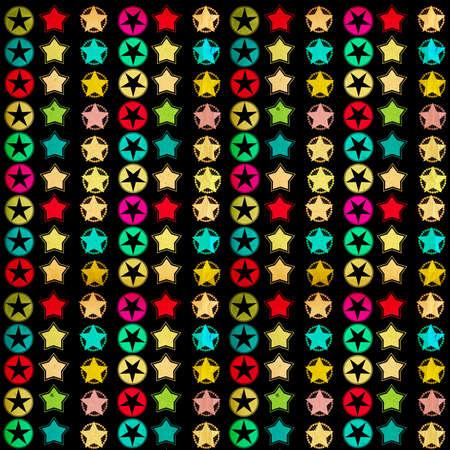 multycolored: stylish retro background Stock Photo