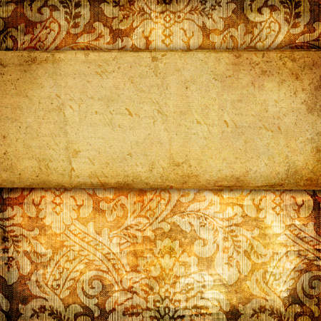 vintage paper background with palce for text Stock Photo