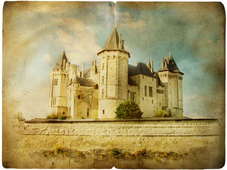 medieval french castle Stock Photo - 5071863
