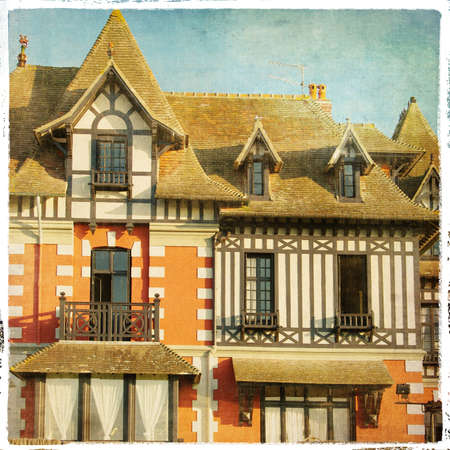 old french architecture  photo