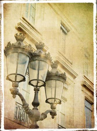 backstreet: lanterns- retro styled pictuer