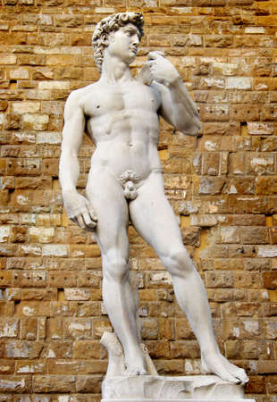 David sculpture in Florence photo