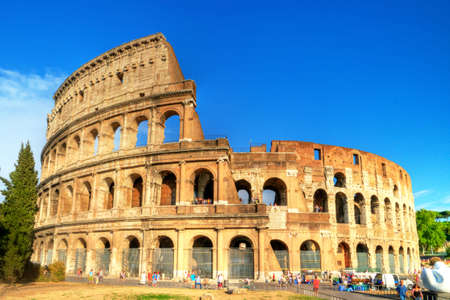 Colosseum -great symbol of Roman empire photo