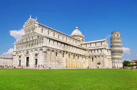 Pisa tower square photo