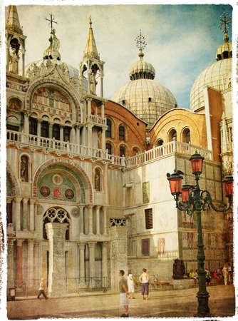 marco: Venice - San Marco square - retro styled