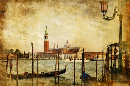 Venice - retro styled picture photo