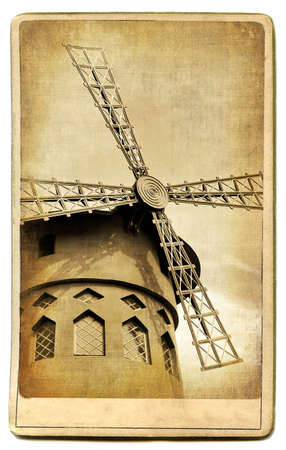 vintage cards series - european landmarks Paris  photo