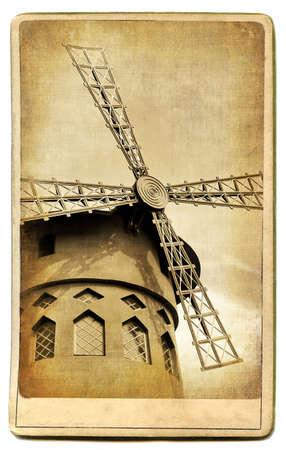 montmartre: Vintage cartes s�rie - europ�ennes monuments de Paris