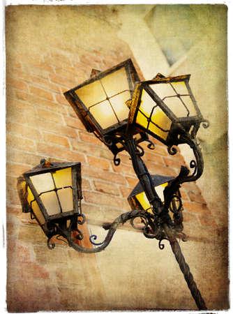 old lanterns of Venice photo