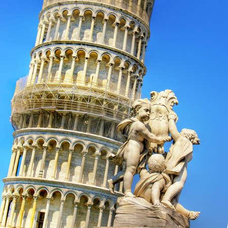 great Italian landmarks series Pisa tower photo