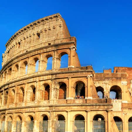 Roma: great Italian landmarks series -Colloseo Stock Photo
