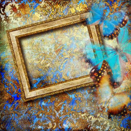 framed: abstart frame