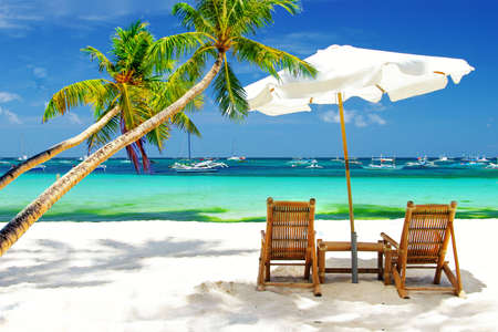 f�tes: vacances tropicales Banque d'images