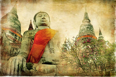 old buddhistic Thailand Stock Photo - 6901030