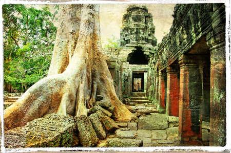 civilisation: temples of ancient civilisation Stock Photo