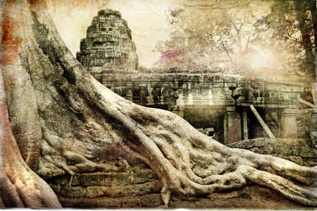 hidden temples of ancient Angkor Stock Photo - 6894602