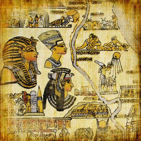 old egyptian background photo