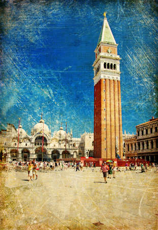 old Venice - San marco square Stock Photo - 6971043