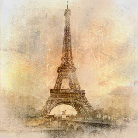 Paris paris.. vintage photoalbum series  photo