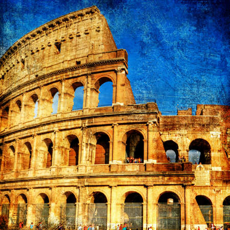 Rome - great italian landmarks series  photo