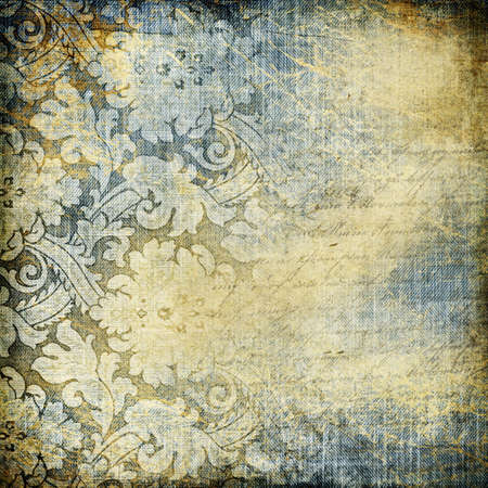 denims: decorative retro background Stock Photo