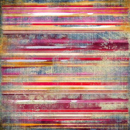 Vintage gestreepte stof achtergrond