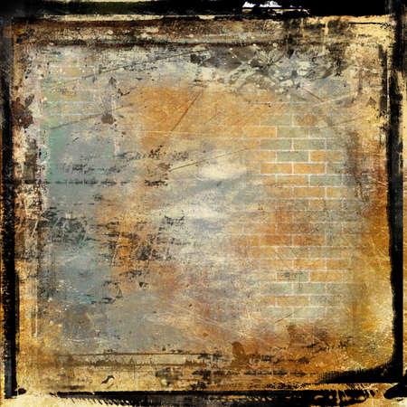 cinema screen: grunge framed background