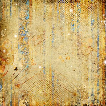 shabby golden paper  photo