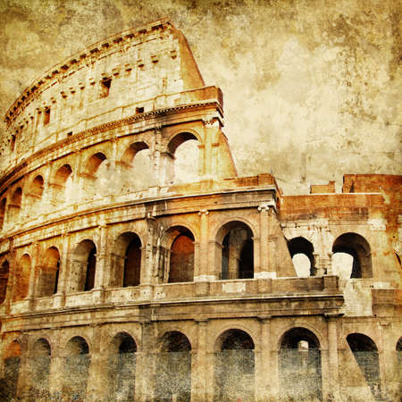 Colosseum - great italian landmarks series  photo