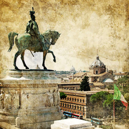 great Rome - artistic picture  photo