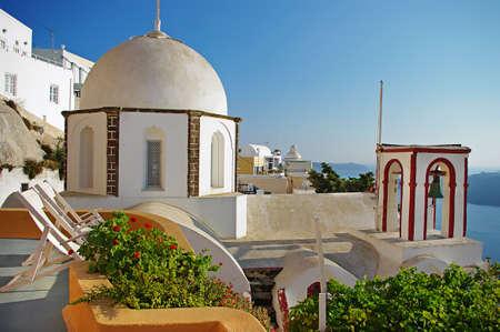 Santorini churches photo