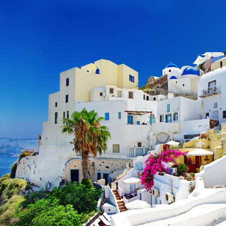 cycladic: traditionak architettura cicladica - Santorini