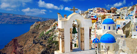travel in Greece series - stunniing Santorini photo