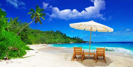 Tropical Paradise - Seychelles Banque d'images - 11598810