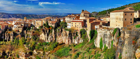 ancient Spain - Cuenca town on cliff rocks