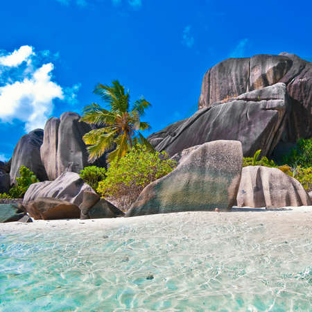 Seychelles, famous granite beaches photo