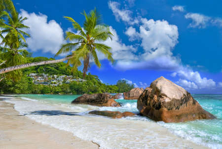 tropical paradise - Seychelles islands photo