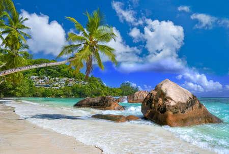 seychelles: tropical paradise - Seychelles islands Stock Photo