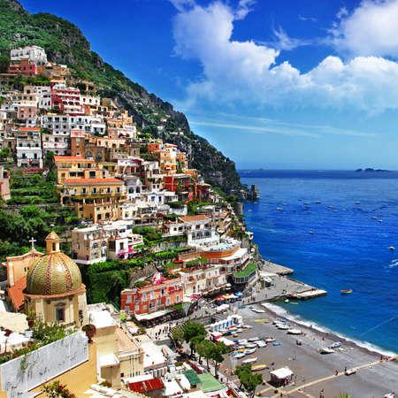 beautiful Positano  Amalfi coast  bella italia series photo