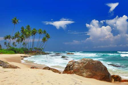 pictorial deserted beaches of Sri lanka photo