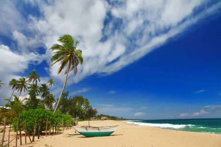 beautifil peaceful  beaches of Sri lanka photo
